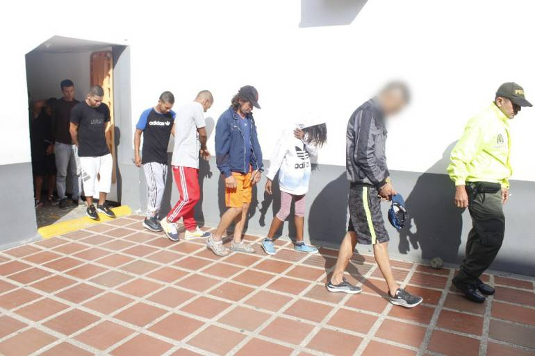 Detenidas 18 personas por homicidios en Cali: Detenidas 18 personas implicadas en homicidios selectivos en Cali