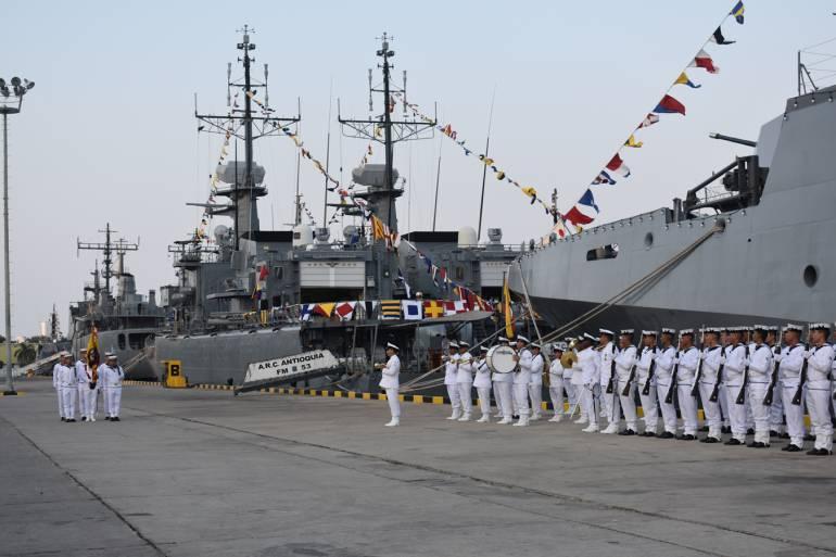 Armada celebra 13 años de la Flotilla de Superficie del Caribe: Armada celebra 13 años de la Flotilla de Superficie del Caribe