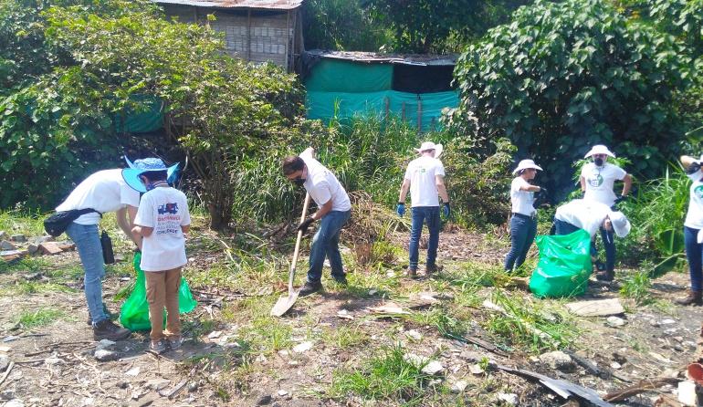 Andi lidera voluntariado empresarial en zonas vulnerables de Ibagué