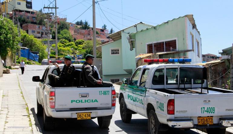 Tres heridos tras la explosión de una granada en Bogotá