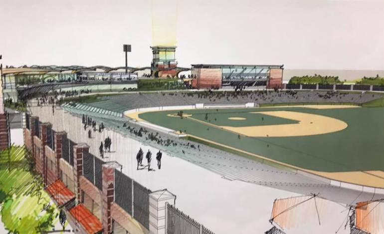 Estudian concesionar el estadio de béisbol de Cartagena para remodelarlo: Estudian concesionar el estadio de béisbol de Cartagena para remodelarlo