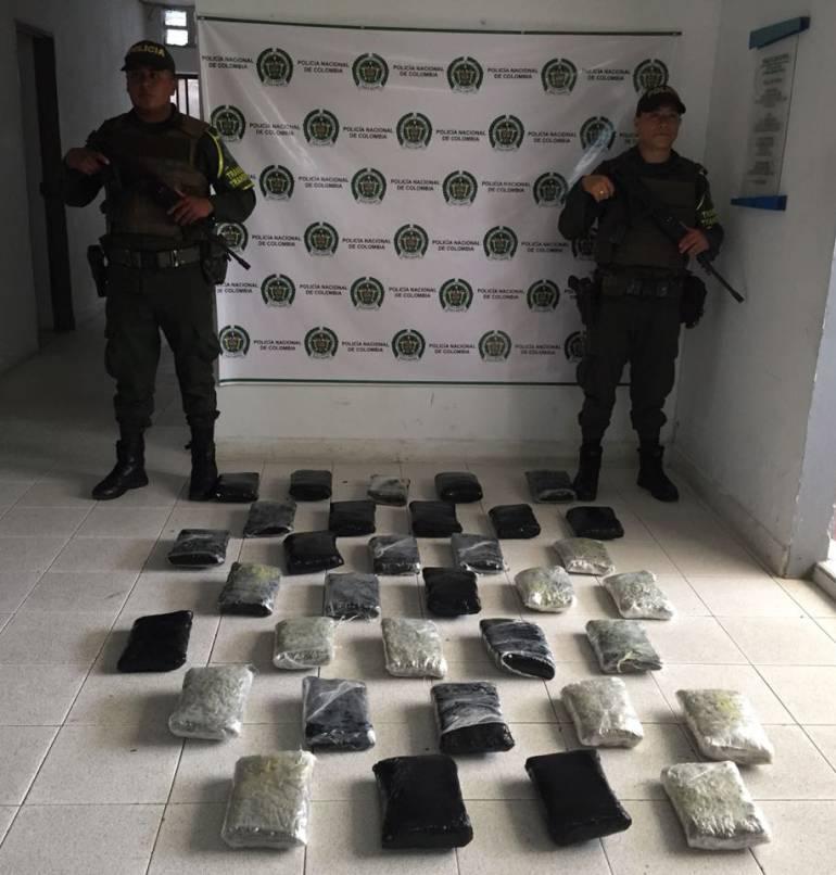 En Urabá, delincuentes transportaban marihuana dentro de una fotocopiadora