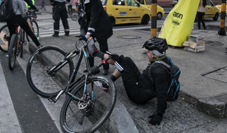 Robos de bicicletas en Bogotá