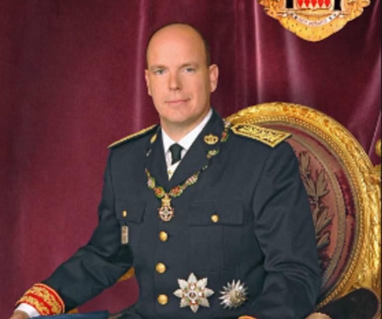 Príncipe Alberto II de Mónaco.