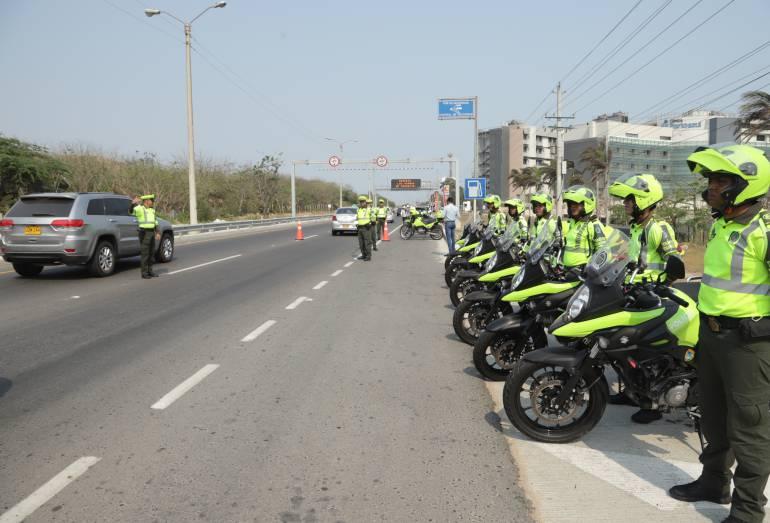 40.000 policías vigilarán las carreteras del país en esta Semana Santa