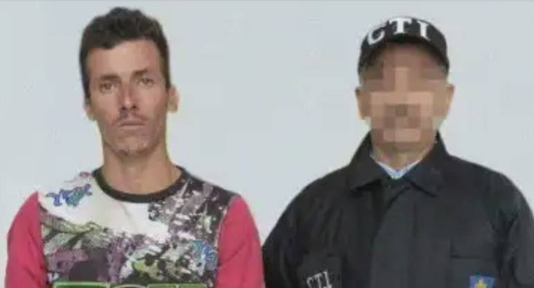 Jhon William Hurtado Henao, asesino de Gloria Inéz González Garzón de 56 años.