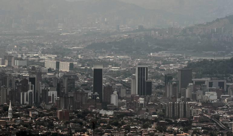 Contaminación del aire de Bogotá es causada por actividad industrial
