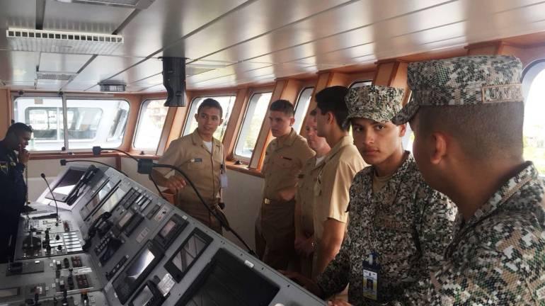 Intercambio académico con cadetes de la academia naval de Estados Unidos: Intercambio académico con cadetes de la academia naval de Estados Unidos