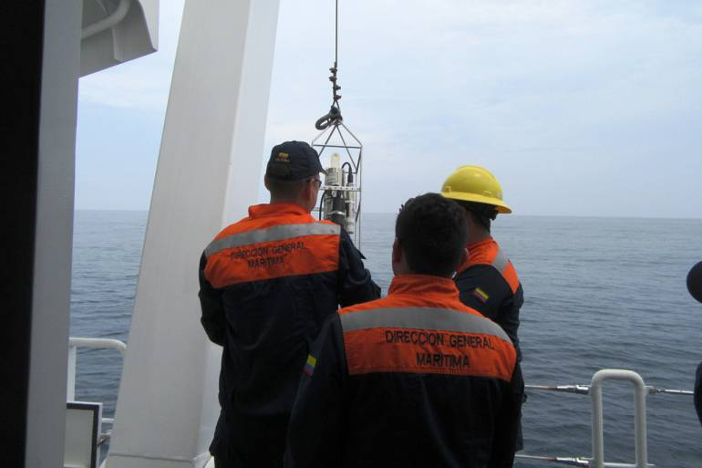 Realizan primer monitoreo del año de ecosistemas costeros en Cartagena: Realizan primer monitoreo del año de ecosistemas costeros en Cartagena