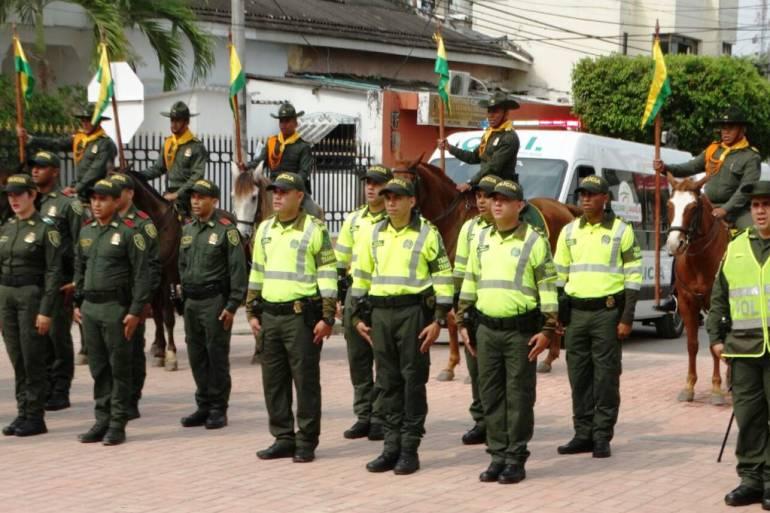 1.200 policías garantizarán la seguridad en Bolívar en Semana Santa: 1.200 policías garantizarán la seguridad en Bolívar en Semana Santa