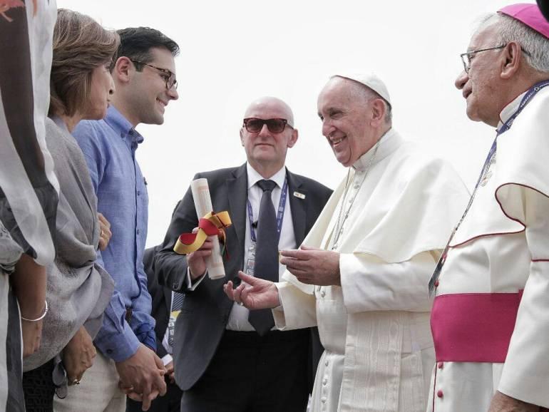 Vaticano destacó logística que se preparó en Cartagena para visita del papa: Vaticano destacó logística que se preparó en Cartagena para visita del papa
