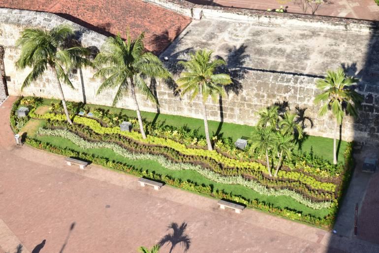 Revitalizan jardines en Plaza de la Paz en Centro Histórico de Cartagena: Revitalizan jardines en Plaza de la Paz en Centro Histórico de Cartagena