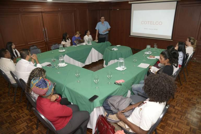 IPCC dictó taller en patrimonio material e inmaterial a Cotelco: IPCC dictó taller en patrimonio material e inmaterial a Cotelco