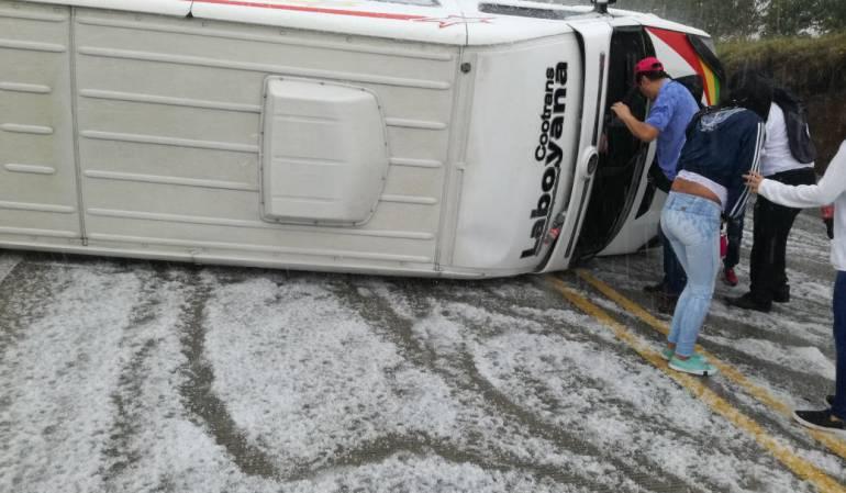 Tormentas eléctricas: Lluvias con tormentas eléctricas producen emergencias en el Cauca