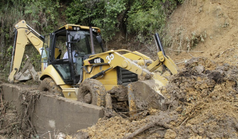 Deslizamientos de tierra en Ibagué