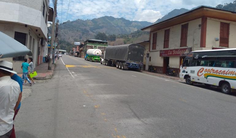 Calles de Cajamarca, Tolima