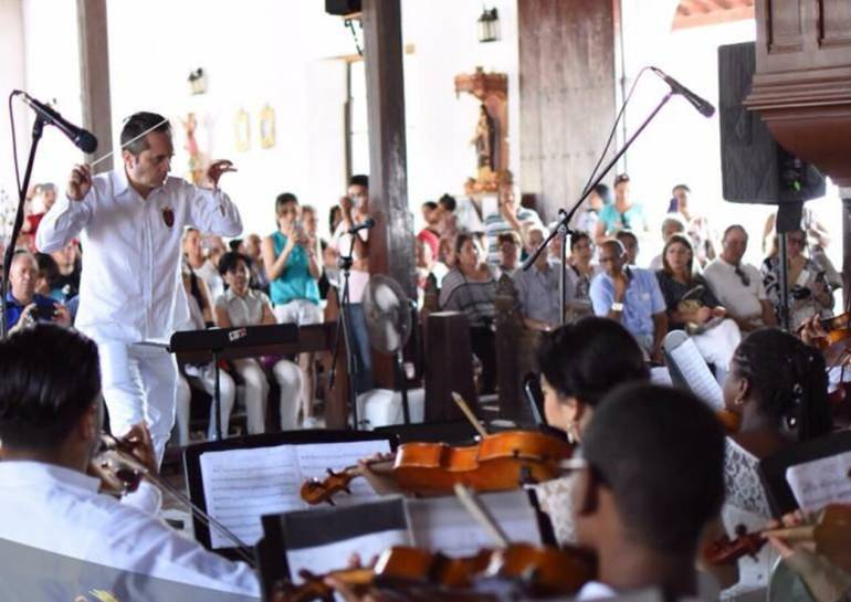 Mompox recibe el II Festival de Música Sacra: Mompox recibe el II Festival de Música Sacra