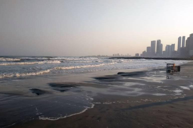 Alerta en el Caribe colombiano por aumento de la altura de las olas: Alerta en el Caribe colombiano por aumento de la altura de las olas