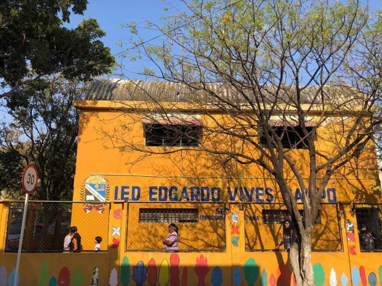 Esta fue la escuela donde sucedió el hecho. CARACOL RADIO