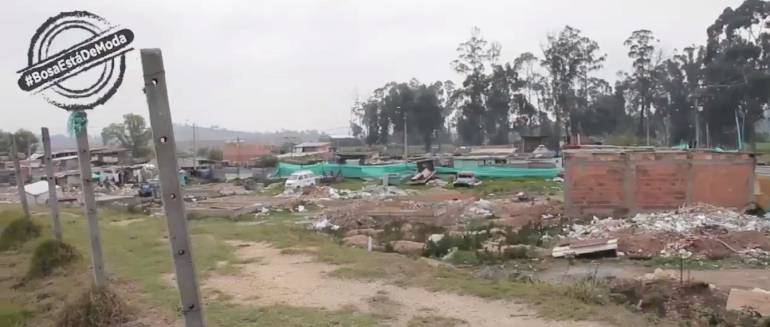 Predios Bosa: Construcciones ilegales fueron demolidas en Bosa