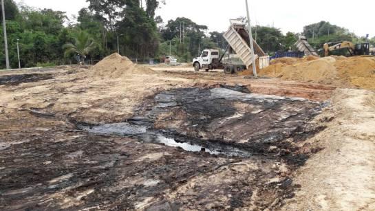 BARRANCABERMEJA ECOPETROL CONTAMINACIÓN: Video: Hubo inadecuada disposición final de residuos de la Lizama