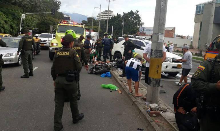 Firmatón para evitar cárcel a hombre que atropelló a ladrones en Medellín