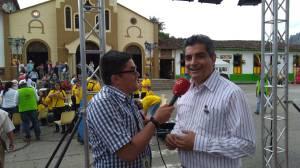 El gobernador del Quindío, Carlos Eduardo Osorio