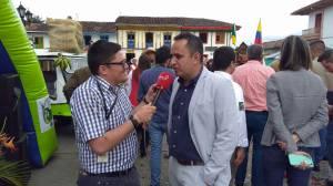 El alcalde de Salento Juan Miguel Galvis