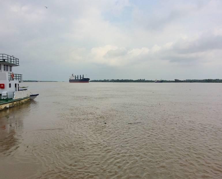 Restringen acceso al puerto de Barranquilla por fuertes vientos