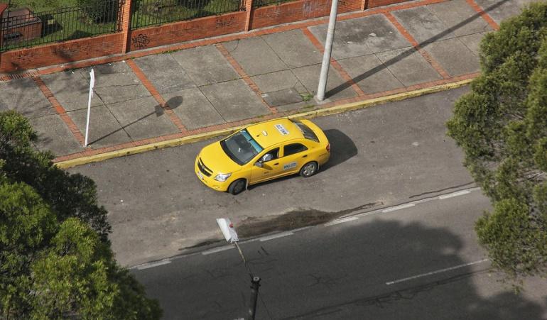 Quejas cotra los taxistas en Bogotá