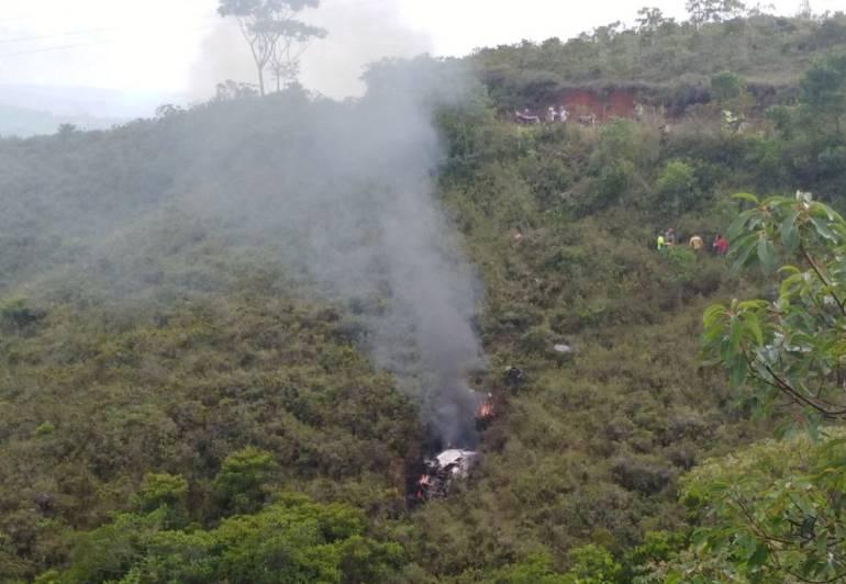 Accidente Jamundi: Volcamiento de vehículo deja un muerto y dos más heridos en Jamundi