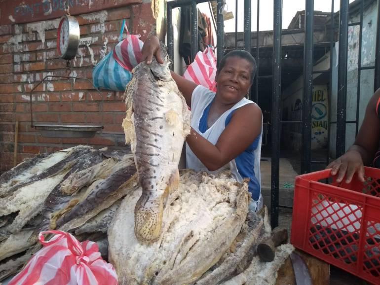 'Culto al pescado' en Cartagena durante la Semana Santa