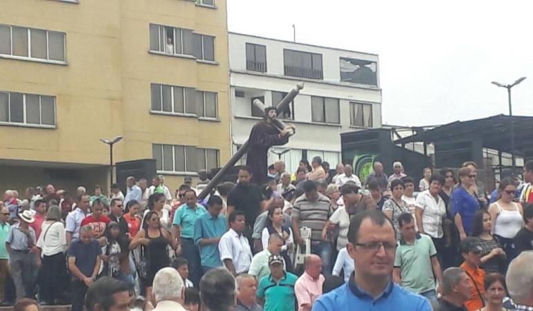 Semana Santa Quindío: Iglesia católica en Quindío ora por la liberación de todos los secuestrados