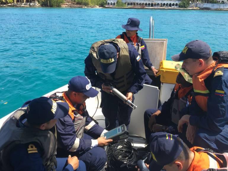 Dimar apoyó procesos de formación de la Armada Nacional en Cartagena