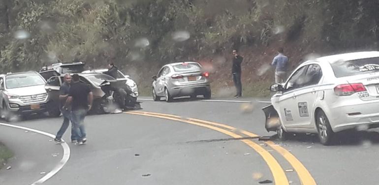 Accidentes tránsito Antioquia: Bebé de 3 meses murió en accidente de tránsito en Rionegro