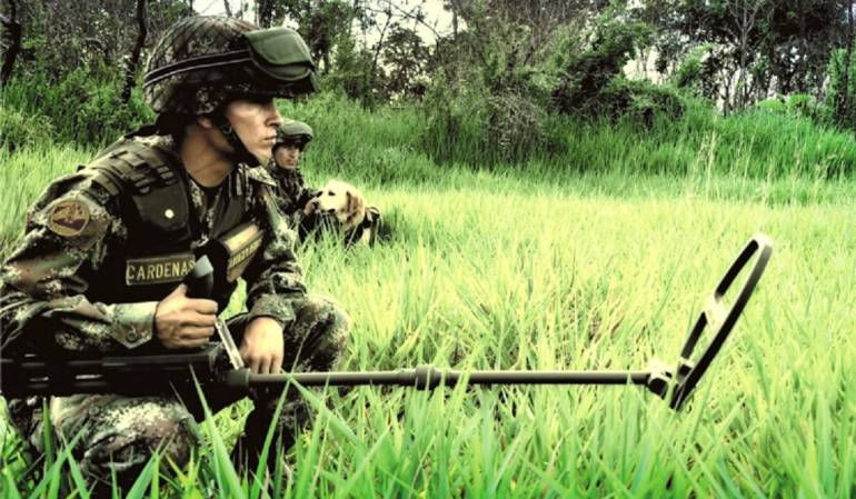 Desminado Humanitario: El Ejército iniciará trabajos de desminado en tres municipios del Eje