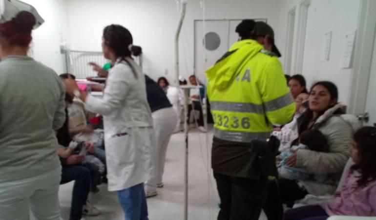Intoxicación masiva en Soacha por consumo de alimentos en mal estado