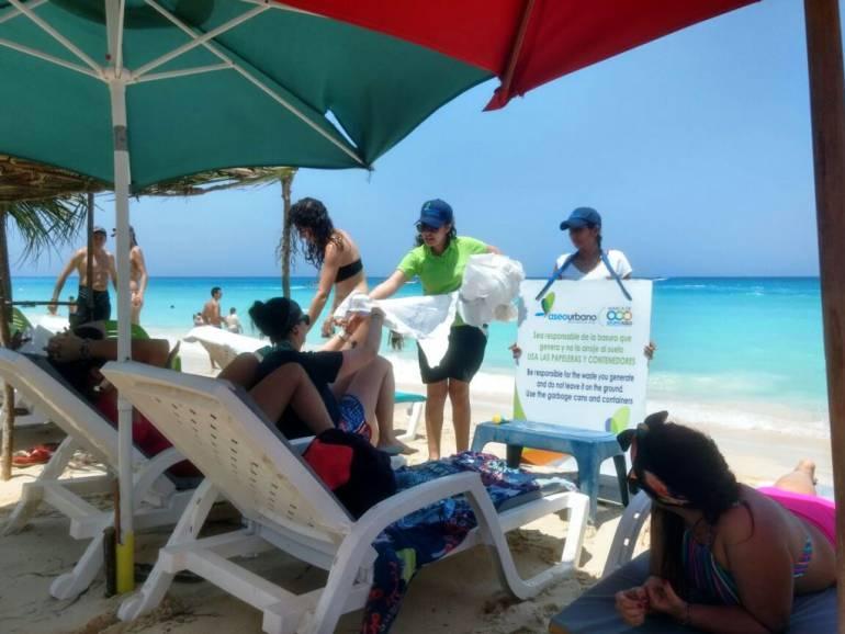 Zona insular de Cartagena se mantuvo limpia en Semana Santa: Zona insular de Cartagena se mantuvo limpia en Semana Santa