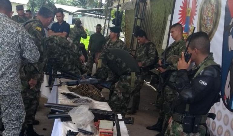Disidencias Farc: Un muerto y dos capturados tras enfrentamientos armados en Nariño