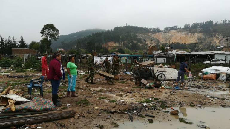80 niños y 50 familias damnificadas por inundaciones en Sogamoso: 80 niños y 50 familias damnificadas por inundaciones en Sogamoso