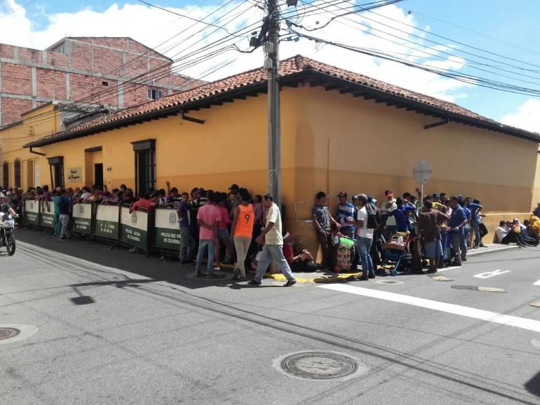 Este viernes iniciará caracterización a venezolanos en Bucaramanga: Este viernes iniciará caracterización a venezolanos