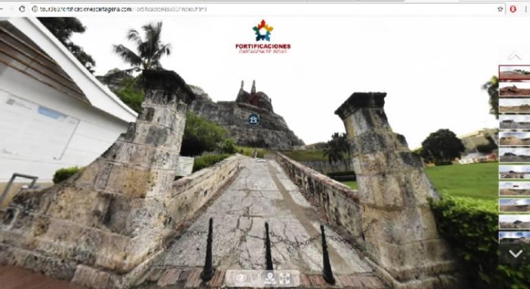 Conoce el Castillo de San Felipe a través del APP Tour 360°: Conoce el Castillo de San Felipe a través del APP Tour 360°