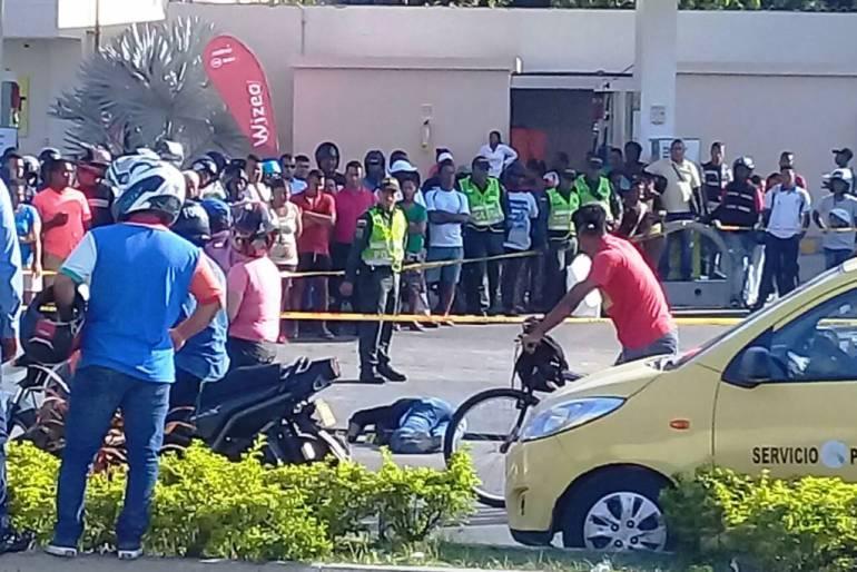 Hombre se suicida después de intentar asesinar a su compañera en Cartagena: Hombre se suicida después de intentar asesinar a su compañera en Cartagena