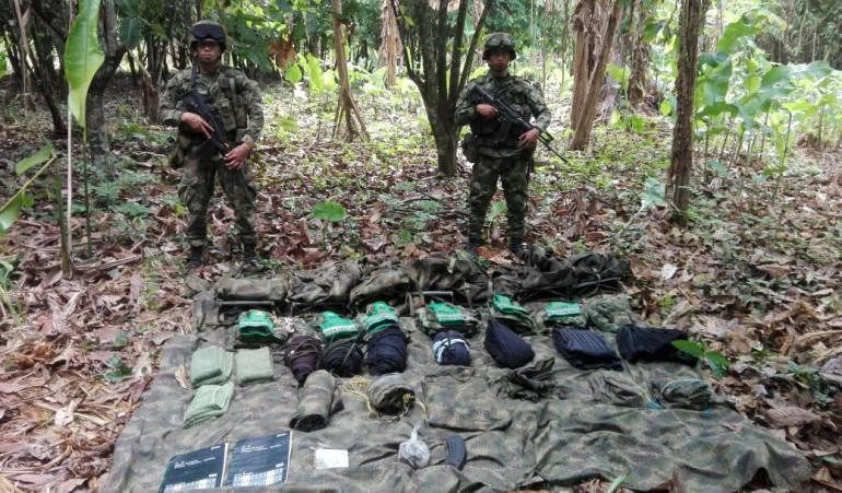 Autoridades localizan campamento del Clan del Golfo en Riosucio, Chocó