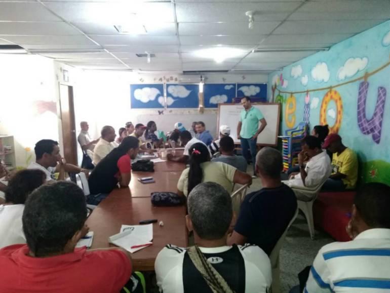 Reincorporados en Bolívar inician formación en economía solidaria: Reincorporados en Bolívar inician formación en economía solidaria