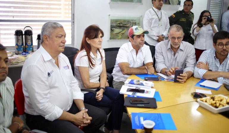 El Consejo de Seguridad lo desarrollaron los gobernadores Eduardo Verano y Rosa Cotes, el alcalde Alejandro Char, las fuerzas militares y Parques Naturales de Colombia.