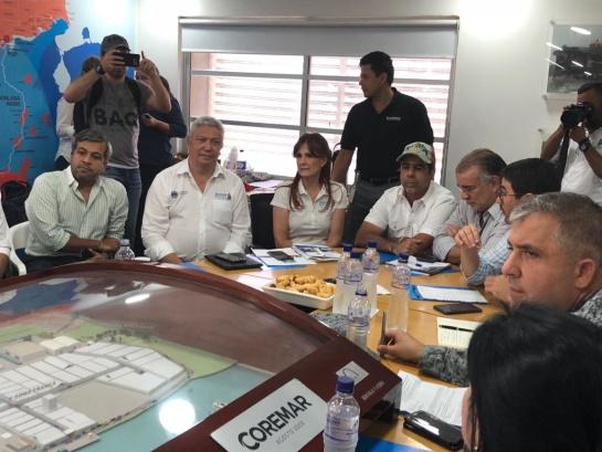 Vía Parque Isla Salamanca: Cierran el Vía Parque Isla Salamanca por incendios que provocan criminales