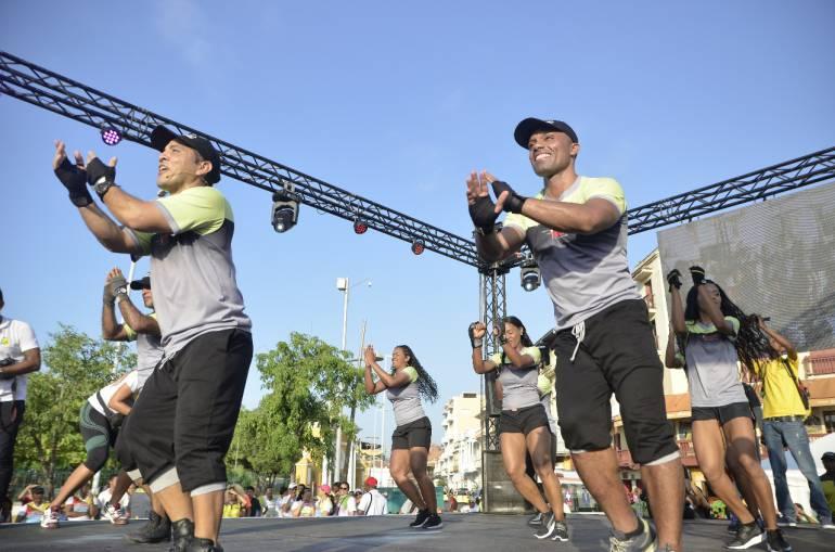 Cartagena celebra día mundial de la actividad física: Cartagena celebra día mundial de la actividad física
