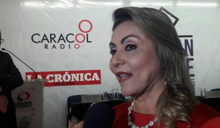 La ex mandataria es investigada por presunto detrimento patrimonial de 20mil millones de pesos por valorización