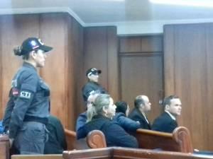En la sala 1 de audiencias del palacio de justicia de Armenia avanza audiencia de legalización de capturas